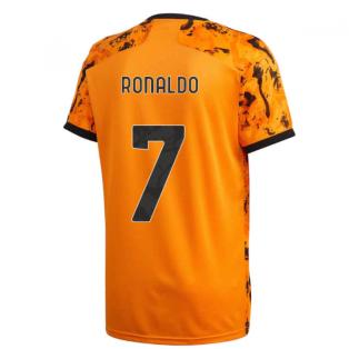 2020-2021 Juventus Adidas Third Shirt (Kids) (RONALDO 7)