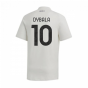 2020-2021 Juventus Adidas Training Tee (Grey) (DYBALA 10)