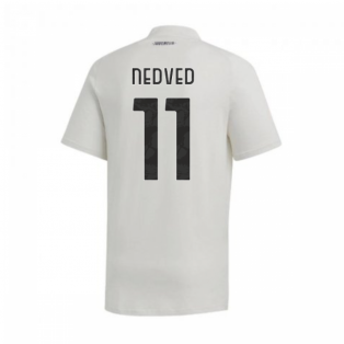 2020-2021 Juventus Adidas Training Tee (Grey) (NEDVED 11)