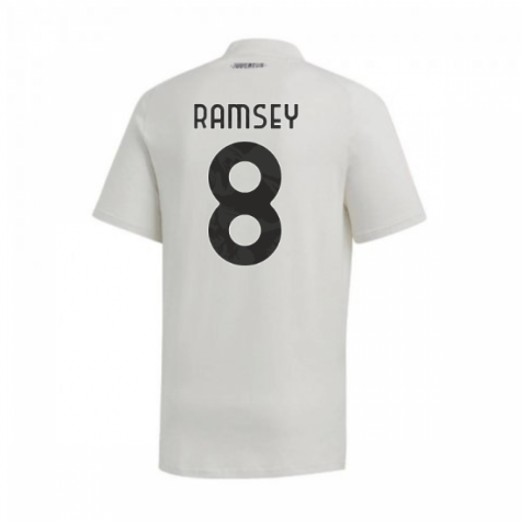 2020-2021 Juventus Adidas Training Tee (Grey) (RAMSEY 8)