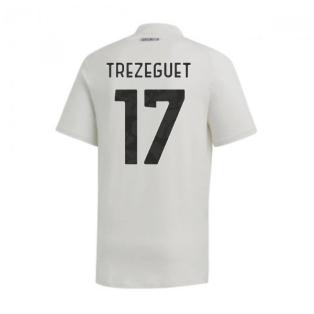 2020-2021 Juventus Adidas Training Tee (Grey) (TREZEGUET 17)