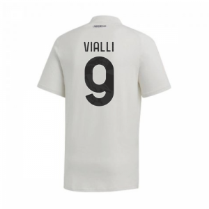 2020-2021 Juventus Adidas Training Tee (Grey) (VIALLI 9)