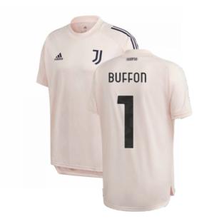 2020-2021 Juventus Training Shirt (Pink) (BUFFON 1)