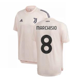 2020-2021 Juventus Training Shirt (Pink) (MARCHISIO 8)