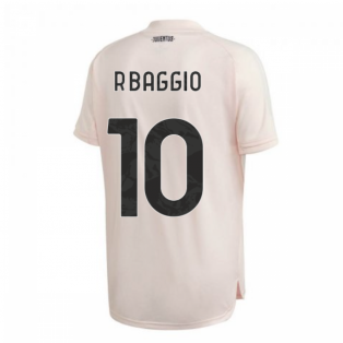 2020-2021 Juventus Training Shirt (Pink) (R.BAGGIO 10)