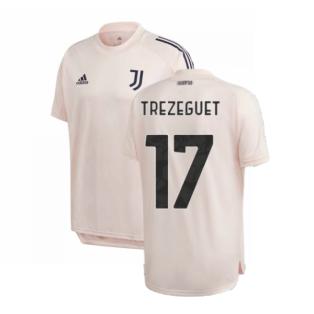 2020-2021 Juventus Training Shirt (Pink) (TREZEGUET 17)