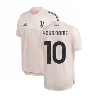 2020-2021 Juventus Training Shirt (Pink) (Your Name)