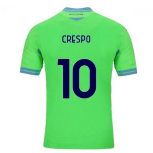 2020-2021 Lazio Away Shirt (CRESPO 10)
