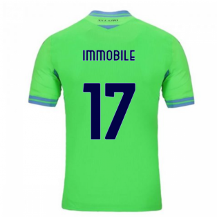 2020-2021 Lazio Away Shirt (Immobile 17)