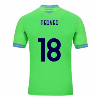 2020-2021 Lazio Away Shirt (Kids) (NEDVED 18)
