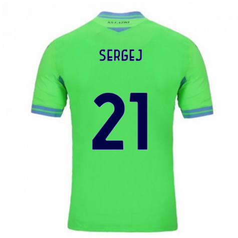 2020-2021 Lazio Away Shirt (Kids) (SERGEJ 21)