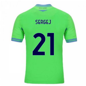 2020-2021 Lazio Away Shirt (SERGEJ 21)