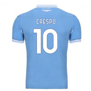 2020-2021 Lazio Home Shirt (CRESPO 10)