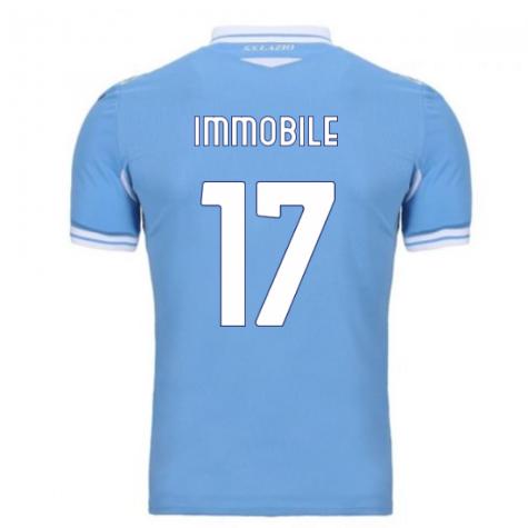 2020-2021 Lazio Home Shirt (Immobile 17)