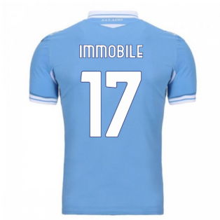 2020-2021 Lazio Home Shirt (Kids) (Immobile 17)