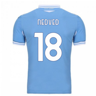 2020-2021 Lazio Home Shirt (Kids) (NEDVED 18)