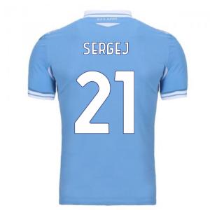 2020-2021 Lazio Home Shirt (Kids) (SERGEJ 21)