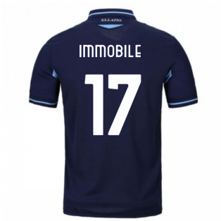 2020-2021 Lazio Third Shirt (Kids) (Immobile 17)