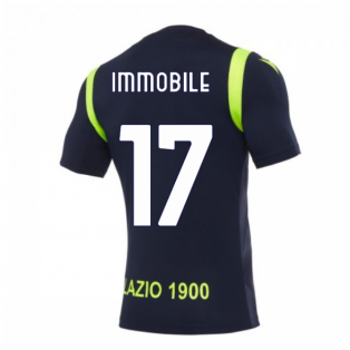 2020-2021 Lazio Training Shirt (Navy) (Immobile 17)