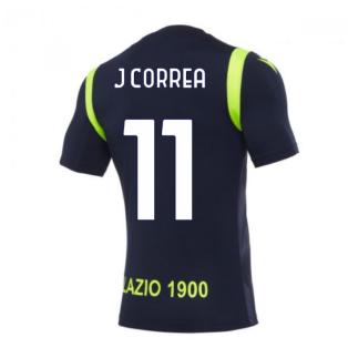 2020-2021 Lazio Training Shirt (Navy) (J CORREA 11)