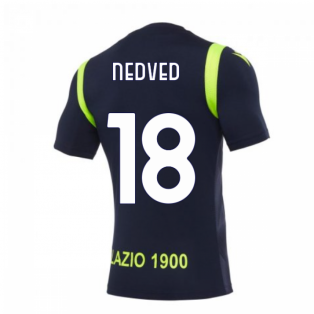 2020-2021 Lazio Training Shirt (Navy) (NEDVED 18)