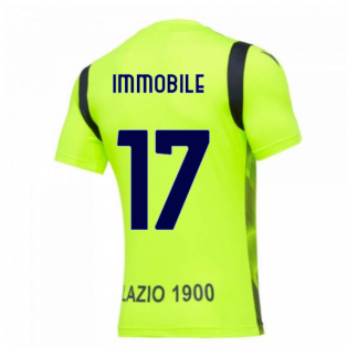 2020-2021 Lazio Training Shirt (Yellow) (Immobile 17)
