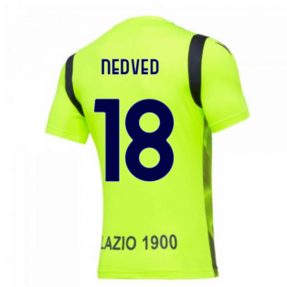 2020-2021 Lazio Training Shirt (Yellow) (NEDVED 18)