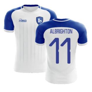 2020-2021 Leicester Away Concept Football Shirt (ALBRIGHTON 11)