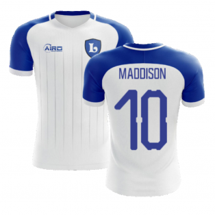 2020-2021 Leicester Away Concept Football Shirt (MADDISON 10)