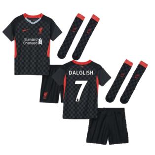 2020-2021 Liverpool 3rd Little Boys Mini Kit (DALGLISH 7)
