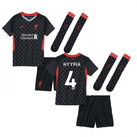 2020-2021 Liverpool 3rd Little Boys Mini Kit (HYYPIA 4)