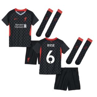 2020-2021 Liverpool 3rd Little Boys Mini Kit (RIISE 6)