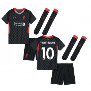 2020-2021 Liverpool 3rd Little Boys Mini Kit (Your Name)