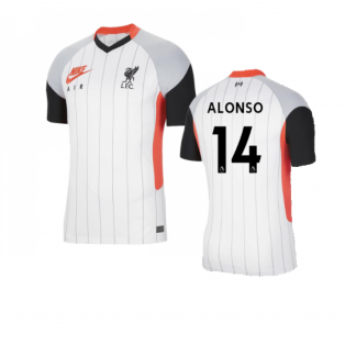 2020-2021 Liverpool Air Max Jersey (ALONSO 14)