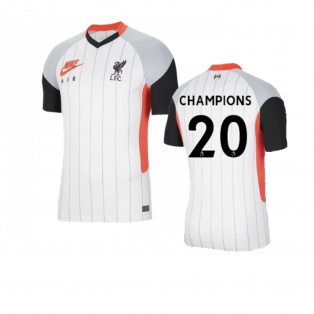 2020-2021 Liverpool Air Max Jersey (CHAMPIONS 20)