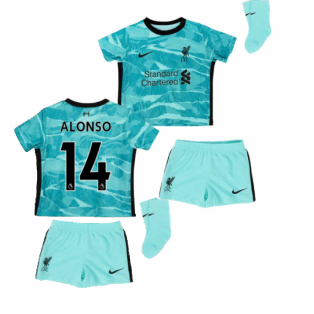 2020-2021 Liverpool Away Baby Kit (ALONSO 14)