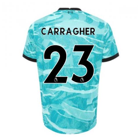2020-2021 Liverpool Away Shirt (CARRAGHER 23)