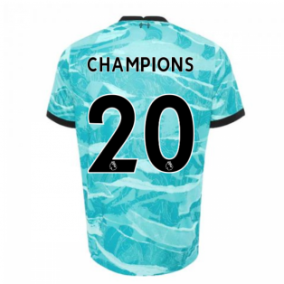2020-2021 Liverpool Away Shirt (CHAMPIONS 20)