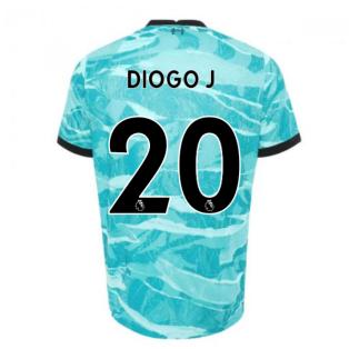 2020-2021 Liverpool Away Shirt (DIOGO J 20)