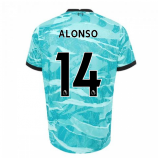 2020-2021 Liverpool Away Shirt (Kids) (ALONSO 14)