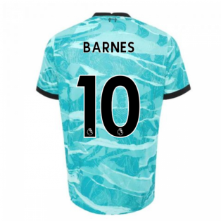 2020-2021 Liverpool Away Shirt (Kids) (BARNES 10)