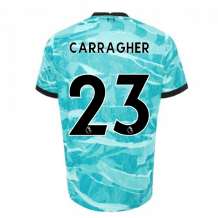 2020-2021 Liverpool Away Shirt (Kids) (CARRAGHER 23)
