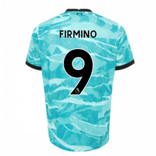 2020-2021 Liverpool Away Shirt (Kids) (FIRMINO 9)