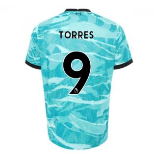 2020-2021 Liverpool Away Shirt (Kids) (TORRES 9)