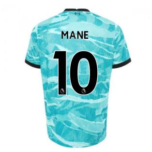 2020-2021 Liverpool Away Shirt (MANE 10)