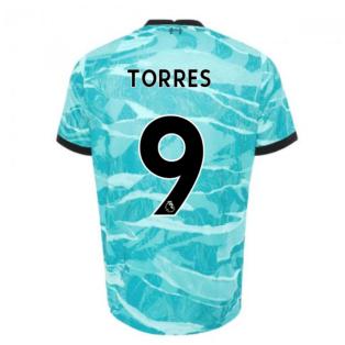2020-2021 Liverpool Away Shirt (TORRES 9)