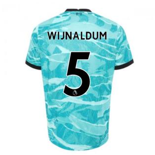 2020-2021 Liverpool Away Shirt (WIJNALDUM 5)