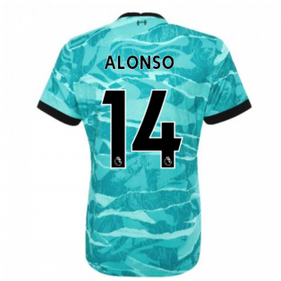 2020-2021 Liverpool Away Shirt - Womens (ALONSO 14)
