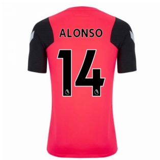2020-2021 Liverpool CL Training Shirt (Red) (ALONSO 14)
