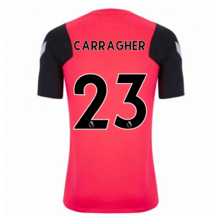 2020-2021 Liverpool CL Training Shirt (Red) (CARRAGHER 23)